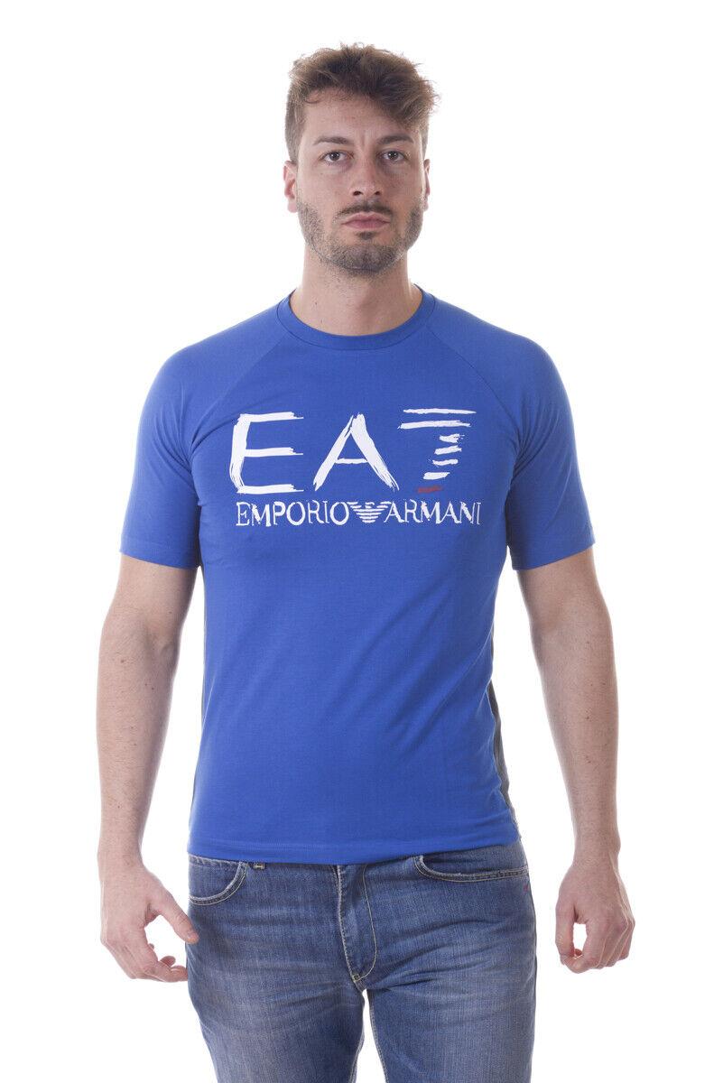 Emporio Armani EA7 T hemd schweißhemd Man Blau 3YPT59PJ73Z 1598 Sz. S PUT OFFER