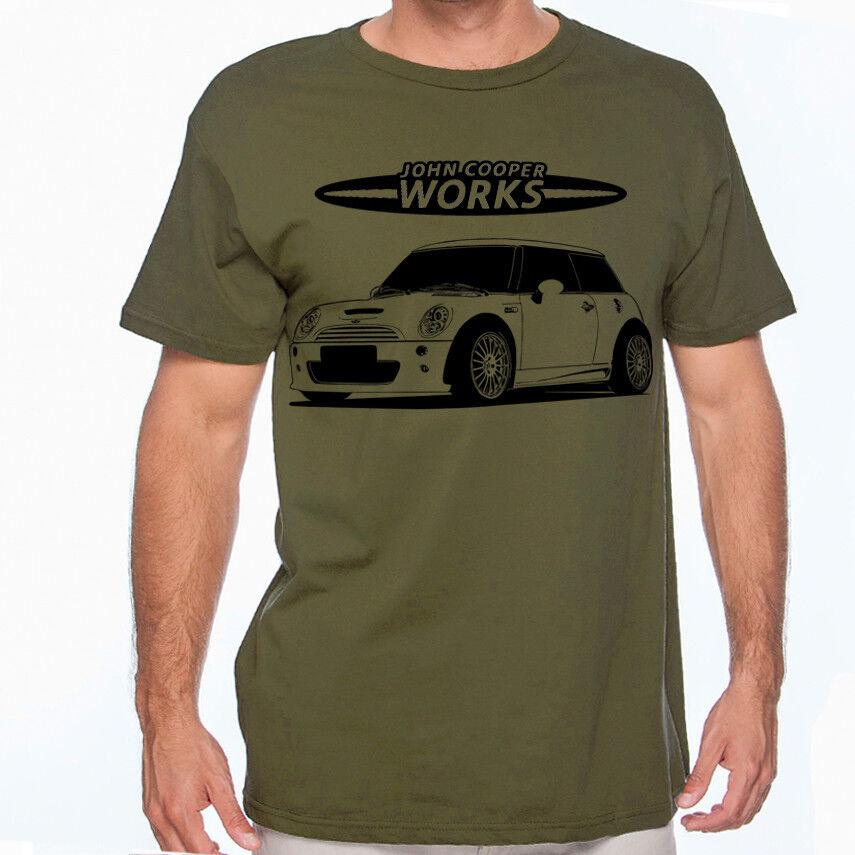 Mini Cooper Racing Hashtag  Color T-Shirt