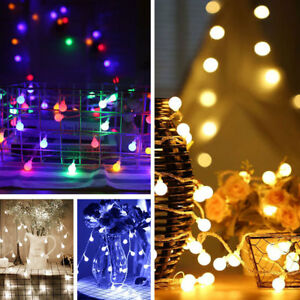 outdoor lighting balls. Image Is Loading 100-500-LED-Berry-Balls-Round-Garden-Xmas- Outdoor Lighting Balls