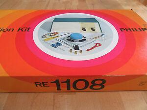 PHILIPS-RE-1108-RADIOBAUKASTEN-ORIGINAL-VERSCHWEISST-TOP-RARITAT-um-1967-EE