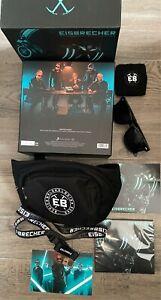 Eisbrecher - Schicksalsmelodien Limited Numbered Fanbox Nr. 656 Sonnenbrille Neu