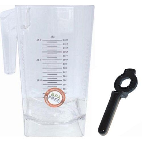 Blendtec LID COPERCHIO PER Mixbehälter JAR NERO SOFT coperchio in plastica
