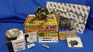 KTM-250SX-F-039-13-15-HOTRODS-WISECO-Top-Bottom-End-ENGINE-Rebuild-Kit-Piston-Crank