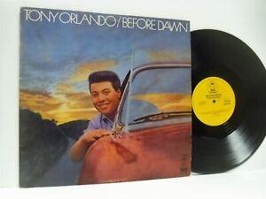 TONY-ORLANDO-before-dawn-DOUBLE-LP-EX-VG-EPC-22007-vinyl-album-uk-best-of