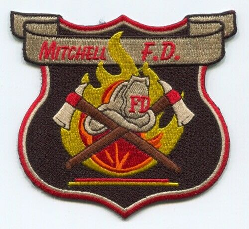 Mitchell Fire Department Patch Mississippi MS SKUFC6
