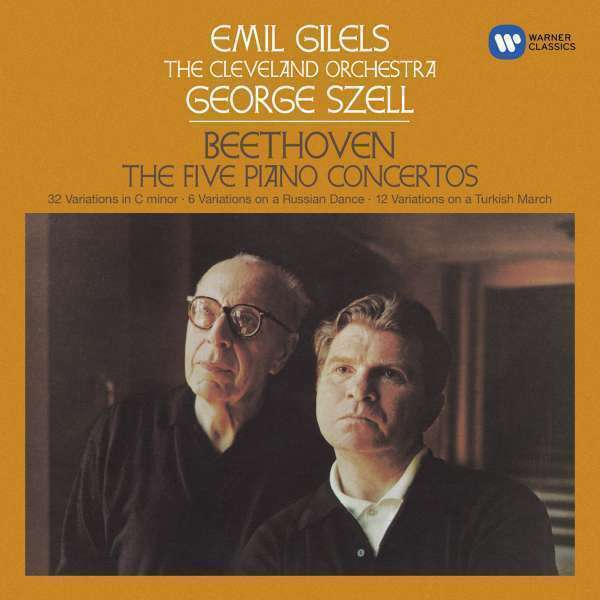 Emil Gilels - Beethoven: Piano Concertos Amendements Neuf CD