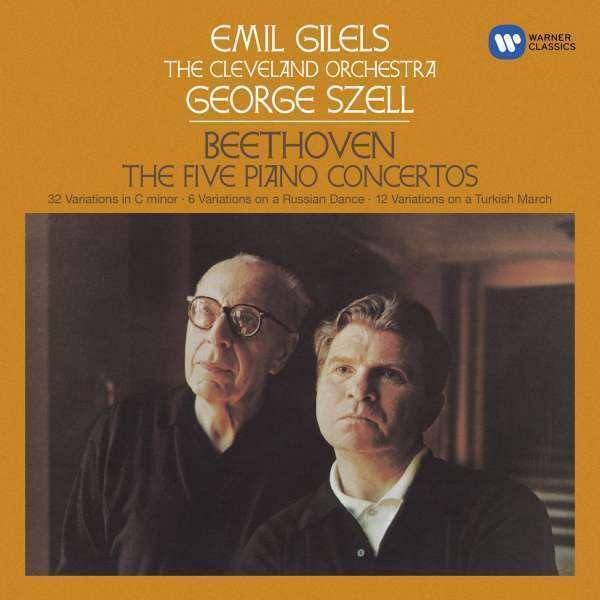 Emil Gilels - Beethoven: Piano Concertos NOS Nuevo CD