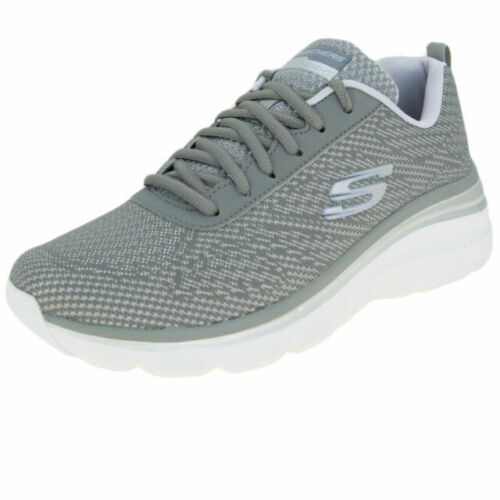 12719 Skechers gylv Zapatos Deportivos Fit De Gris Mujer Fashion bold 1aqdrfax