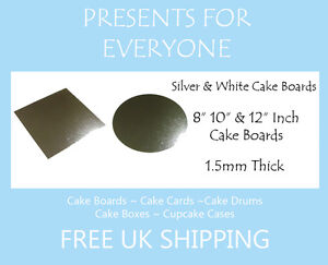 8-034-10-034-12-034-Inch-Round-or-Square-Silver-Or-White-Covered-Cake-Board