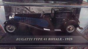 DIE-CAST-034-BUGATTI-TYPE-41-ROYALE-1929-034-AUTO-FRANCESI-SCALA-1-43