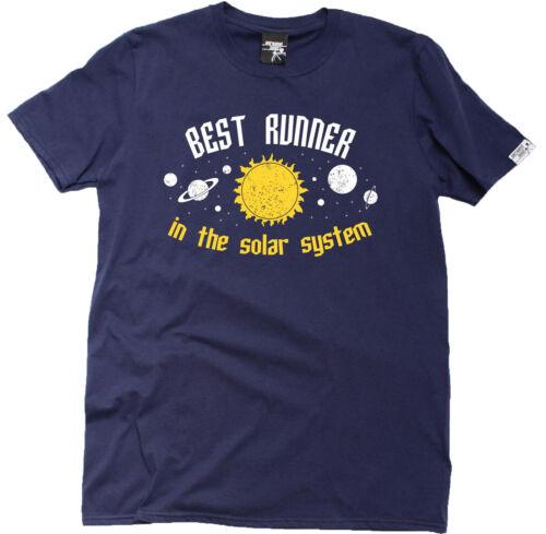 Best Runner In The Solar System MENS T-SHIRT birthday funny gift running runner
