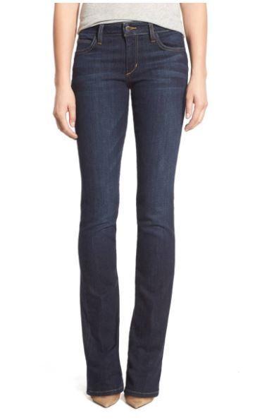 JOE'S Denim Jeans Womens Size 27 HONEY BootCut Dark Wash Inseam 32.5