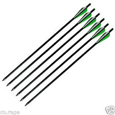 6pcs 20'' Fiberglass Crossbow Arrows Bolts for Crossbow Hunting Target Practice