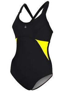 40eeaf371183f Image is loading Aqua-Sphere-Alaska-Swimsuit-Black-Yellow