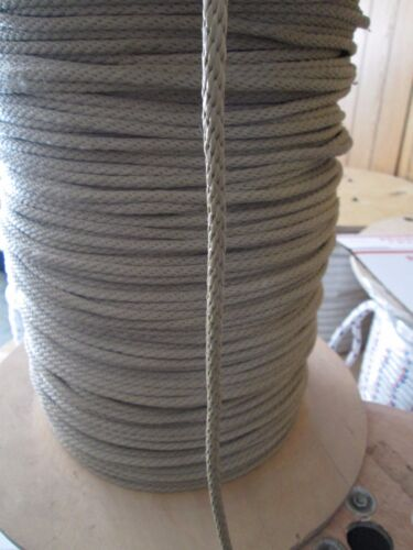 "Gaff Line,anchor rope docline 3//16/""  X 100/' Tan Polyester 820 lb  USA"