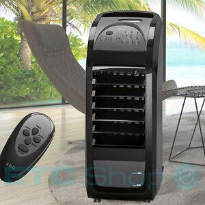 Luxus stand ventilator luft befeuchter klima anlage timer for Humidificador aire acondicionado