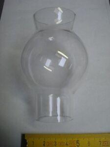 verre clair réf GA1 verre neuf de lampe genre Pigeon diamètre 33 mm