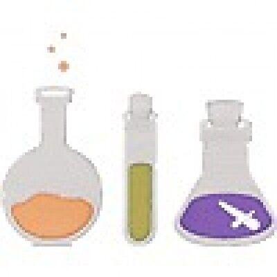 """Quickutz """"REV 0237-S Revolution Die """"Flasks"""" DISCONTINUED"""