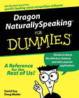 Dragon NaturallySpeaking For Dummies by Doug Muder, David Kay (Paperback, 1999)