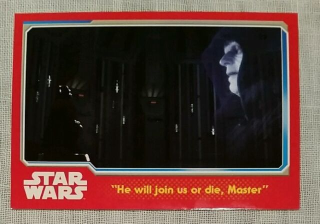Topps Journey To Star Wars: The Force Awakens Card 71