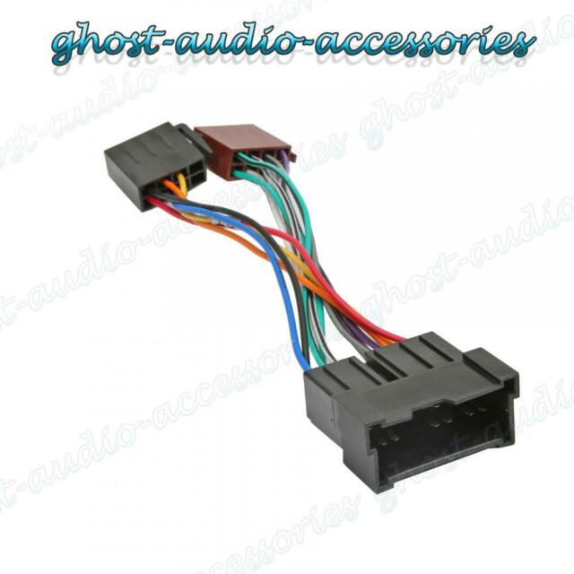 Car Stereo Radio Iso Wiring Harness Adaptor Loom For Kia