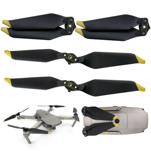 2 Pairs For DJI Mavic Pro Platinum 8331F Low-Noise Quick-Release Propeller Props