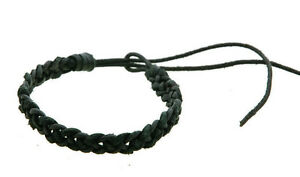 Bracelet Leather Braided Style Surfer Adjustable Woman Man Mixed 29 6006