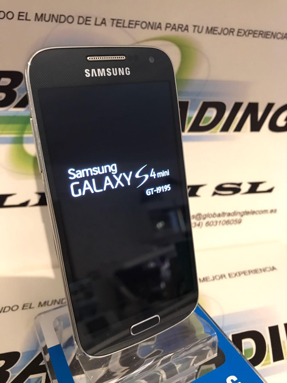 SAMSUNG GALAXY S4 MINI I9195 4G LTE NEGRO LIBRE USADO GRADO A...