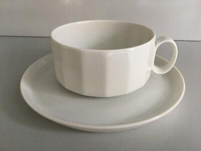 Rosenthal MONBIJOU Rokoko TEETASSE mit Unterteller 2tlg Cup /& Saucer