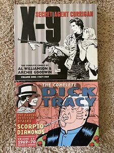 graphic novel lot Hardcover Dick Tracy X-9 Vol 1 One 25 IDW comics