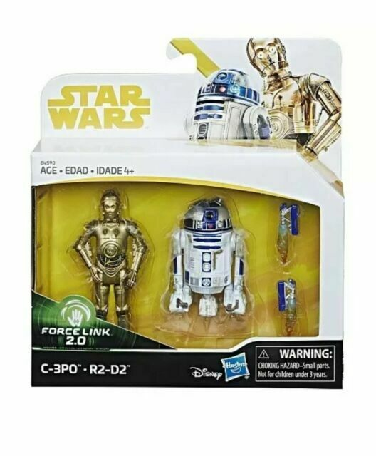 Star Wars Force Link 2.0 C-3PO et R2-D2 Toys R Us Exclusive Action Figures