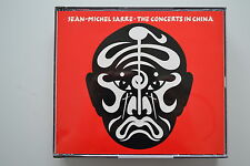 Jean-Michel Jarre The Concerts in China 2 CD Fatbox Polydor West Germany no ifpi