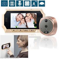 "4.3"" LCD Peephole Viewer 160°Door Eye Doorbell Video Color Security IR Camera"