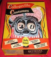 1960s ED 'Big Daddy' ROTH RAT FINK Halloween Costume - Scarce - Collegeville