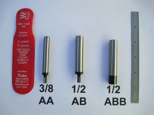 #AA or #AB or #ABB AUDIBLE EDGE FINDER  MADE  BY FISHER  3//8 OR 1//2 SHANK USA