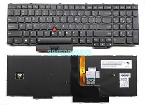 NUOVO-ORIGINALE-NERO-Lenovo-Thinkpad-P50-P70-Tastiera-US-Retroilluminato-00PA370
