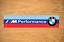 BMW M//////PERFORMANCE VINYL  PEGATINA STICKER DECAL VINILO AUFKLEBER AUTOCOLLANT