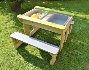 sand wasser spieltisch runder sand und wasser spieltisch. Black Bedroom Furniture Sets. Home Design Ideas