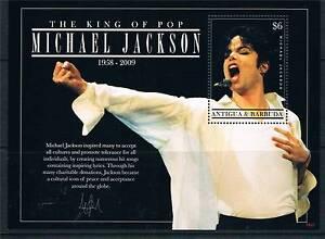 Antigua 2009 Michael Jackson Memoriam 1v sheet MNH