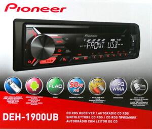 PIONIER-DEH-1900UB-CD-TUNER-MIT-RDS-USB-MP3-AUX-1-DIN-GERAT
