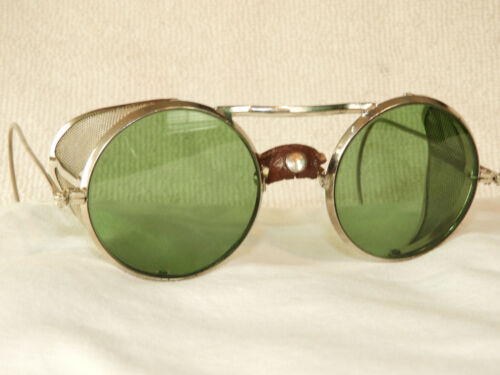 VINTAGE NEW MINT 1930S WILLSON SUNGLASSES SAFETY G