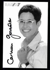 Carmen Gonzales Radio 7 Autogrammkarte Original Signiert ## BC 25413