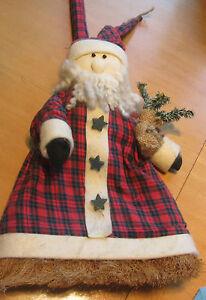 2-nostalgische-dekorative-Weihnachtsbesen-passend-zu-Ihrer-Weihnachtsdekoration