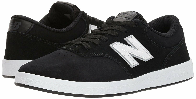 Hombres Estilo De Vida Zapatos  (2E) Ancho AM424NBW New Balance (2E)  Negro Blanco 2018 Original Nuevo 979206