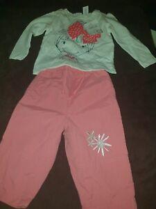 Baby Club Ample Supply And Prompt Delivery Babyset Langarmshirt Und Hose Gr 74 Neu 100% Baumwolle V