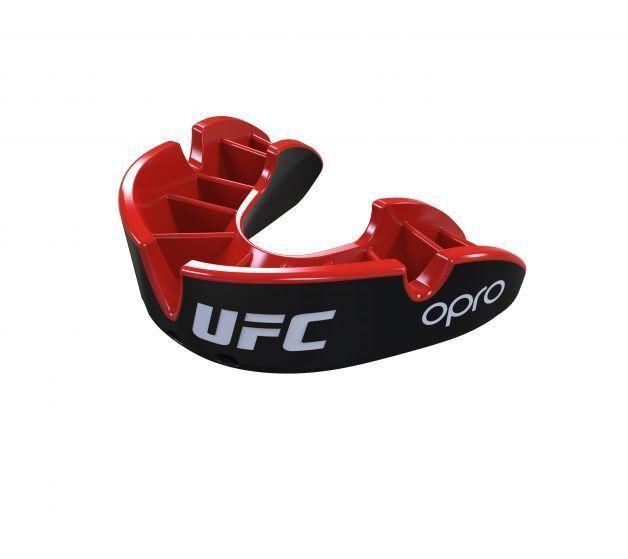 Opro Plata UFC UFC UFC Adulto Protector Bucal Negro Mma Boxeo Artes Marciales  descuento de ventas