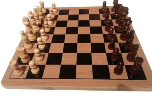 Quality Thick Chess Board and Chess Men New lovely set