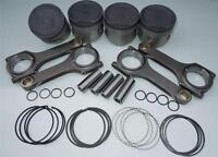 Nippon Racing Mitsubishi 2g Pistons 1g Rod Kit 4g63t Scat 86mm Piston Rods Dsm