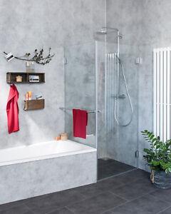 Details zu Combia Duschkabine neben Badewanne Dusche Duschabtrennung A1K