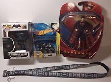Batman Superman Mixed Lot - Gift, Monster Jam, Funko Pop, Action Figure